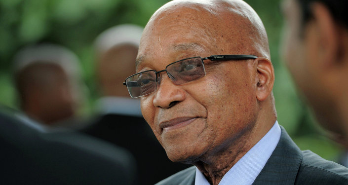 رئيس جنوب أفريقيا جاكوب زوما