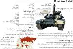 الدبابة الروسية  تي- 90