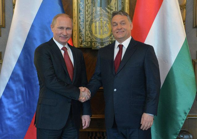 زيارة الرئيس الروسي فلاديمير بوتين للمجر