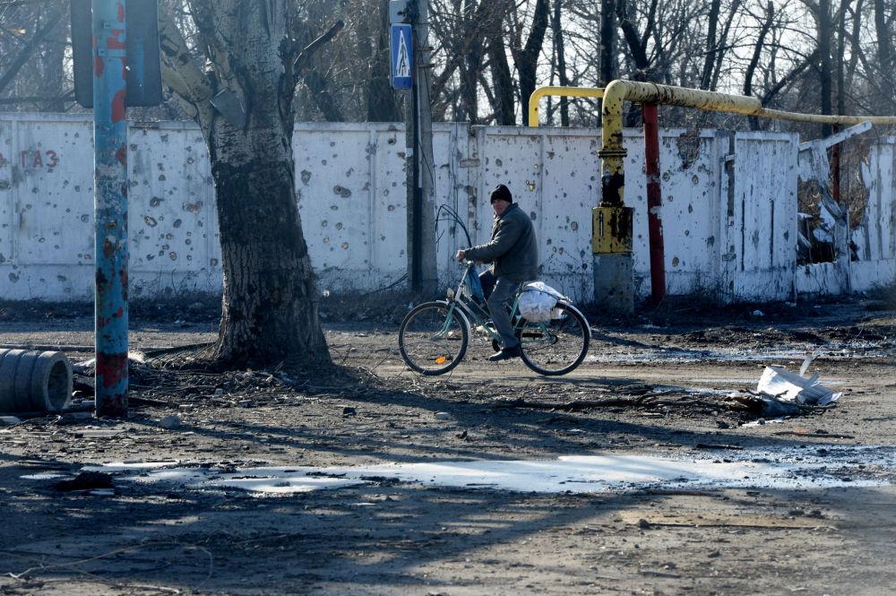 الوضع في دونيتسك