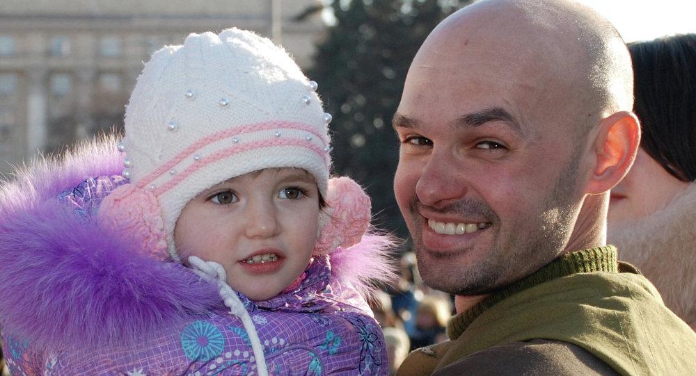 يوم المدافعين عن الوطن في دونيتسك
