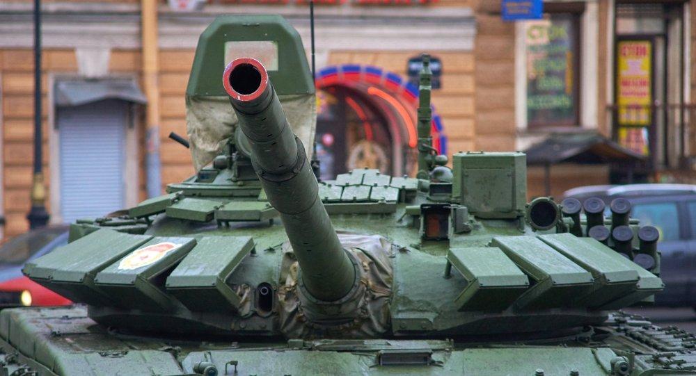 دبابة تابعة للقوات البرية الروسية