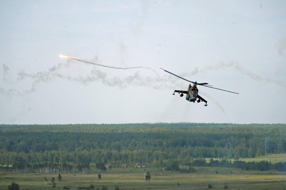 المروحية الهجومية Mi-24