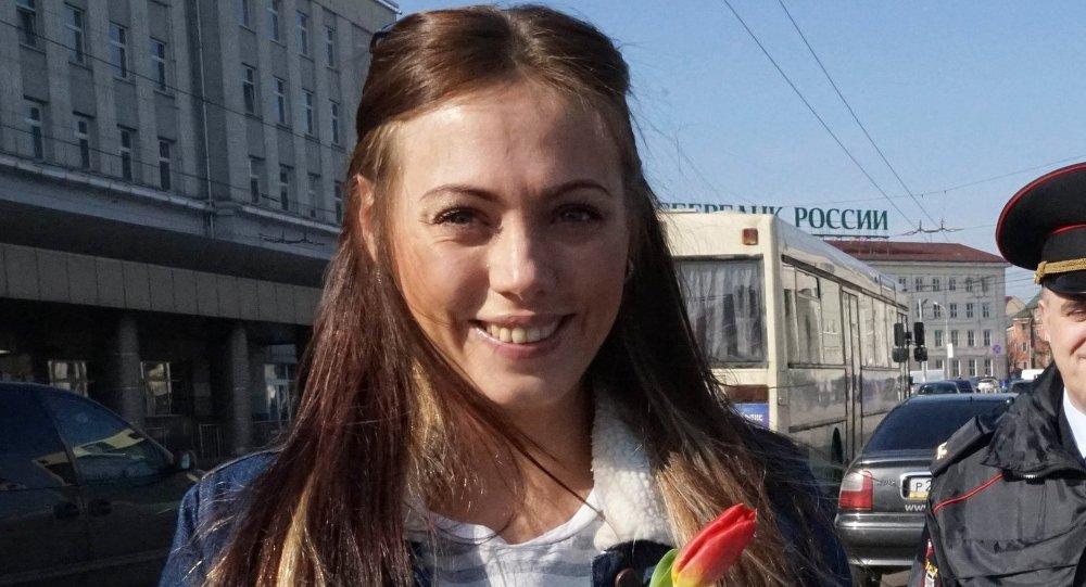 امرأة روسية