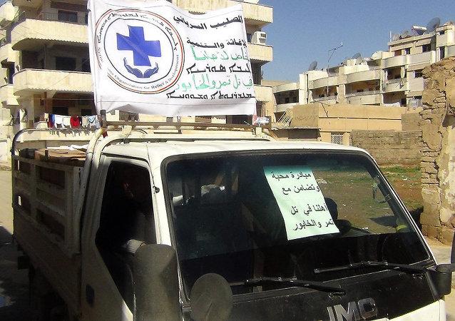 المساعدات الإنسانية للاجئين الآشوريين في القامشلي