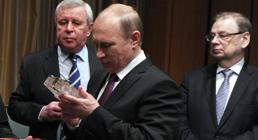 الرئيس بوتين أثناء زيارته إلى مصر