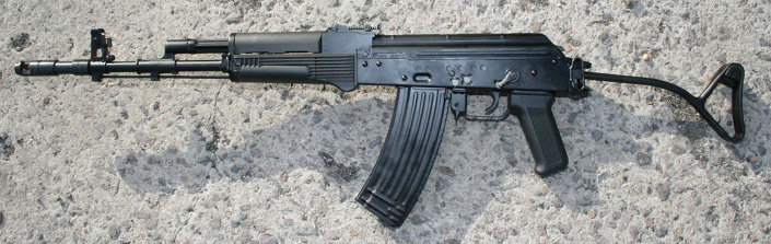 بندقية Kbk wz. 1988 Tantal assault rifle