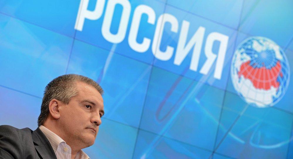 سيرغي أكسيونوف، رئيس منطقة القرم