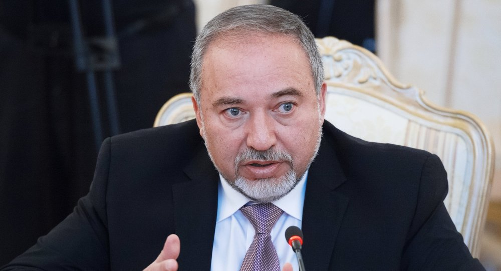 وزير الدفاع الإسرائيلى ليبرمان