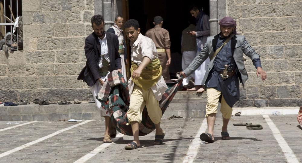 تفجيرات المساجد في اليمن