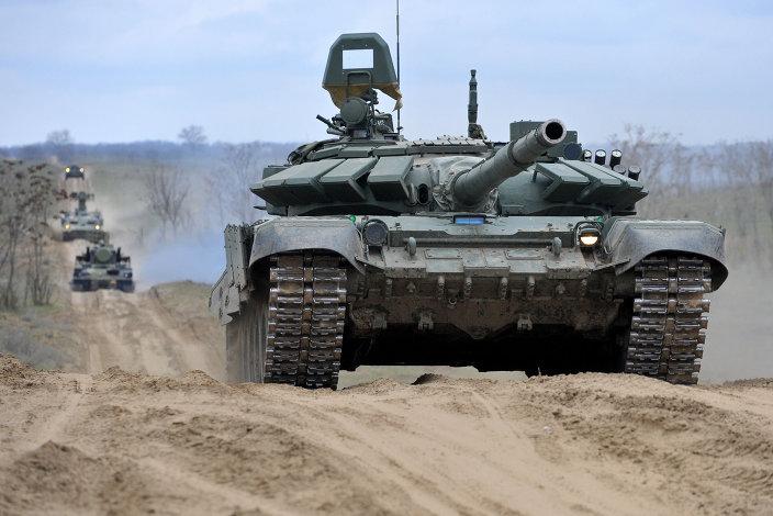 ロシア軍の訓練