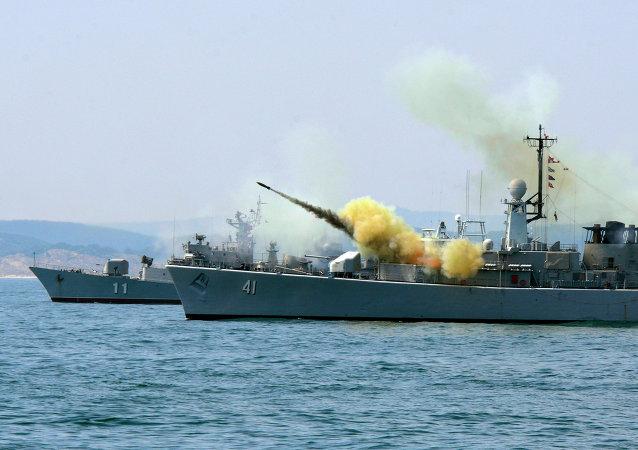 مناورات الناتو في البحر الأسود
