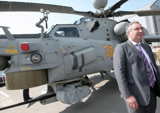 دميتري روغوزين نائب رئيس وزراء روسيا