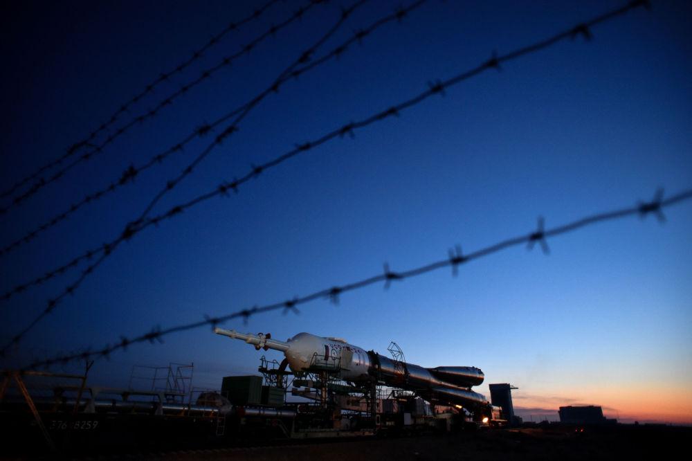 روسيا تستعد لإطلاق الصاروخ الفضائي سويوز-FG