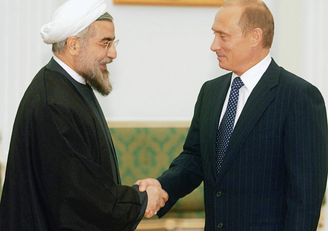 بوتين وروحاني