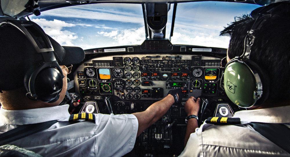 قيادة طائرة إيرباص