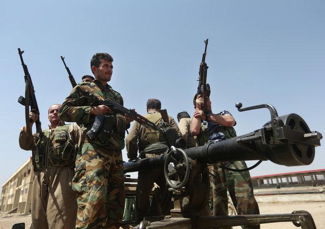 قوت بيشمركة الكردية