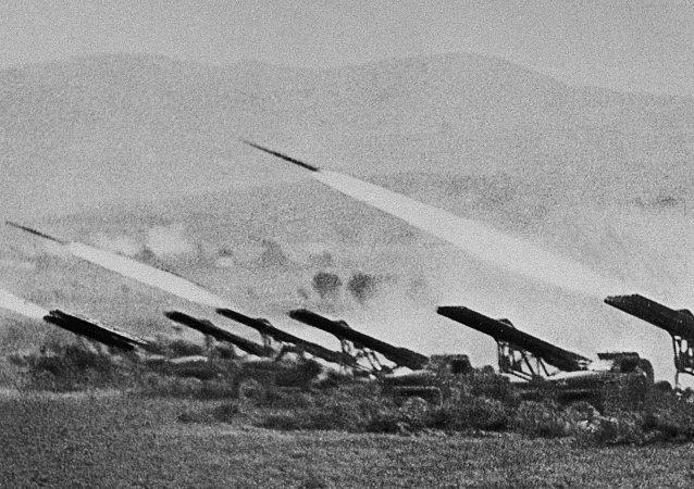راجمات قذائف صاروخية كاتيوشا
