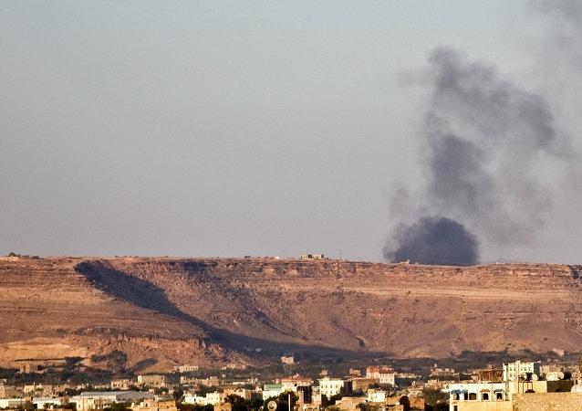 الدخان في صنعاء
