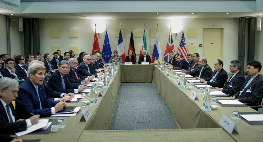 محادثات لوزان حول الملف النووي الإيراني
