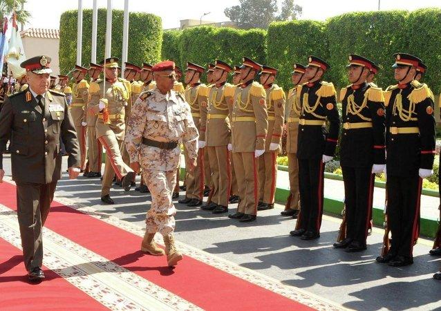 رئيس الأركان المصري فى جيبوتي