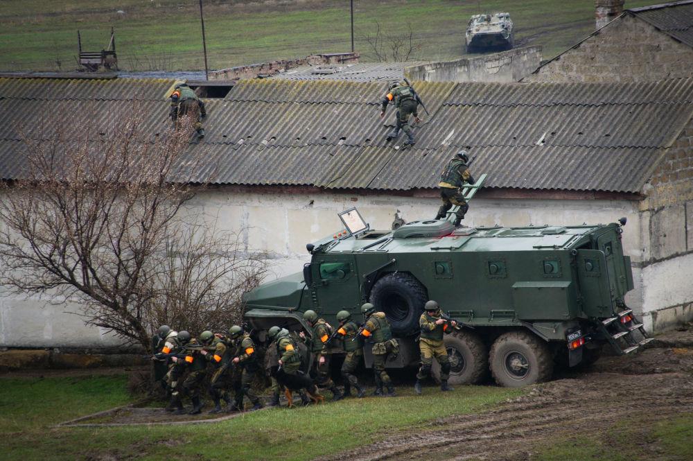 تدريبات قوات الأمن الداخلي في جنوب روسيا