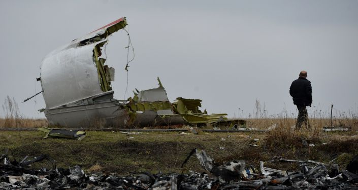 حطام طائرة البوينغ الماليزية في أوكرانيا