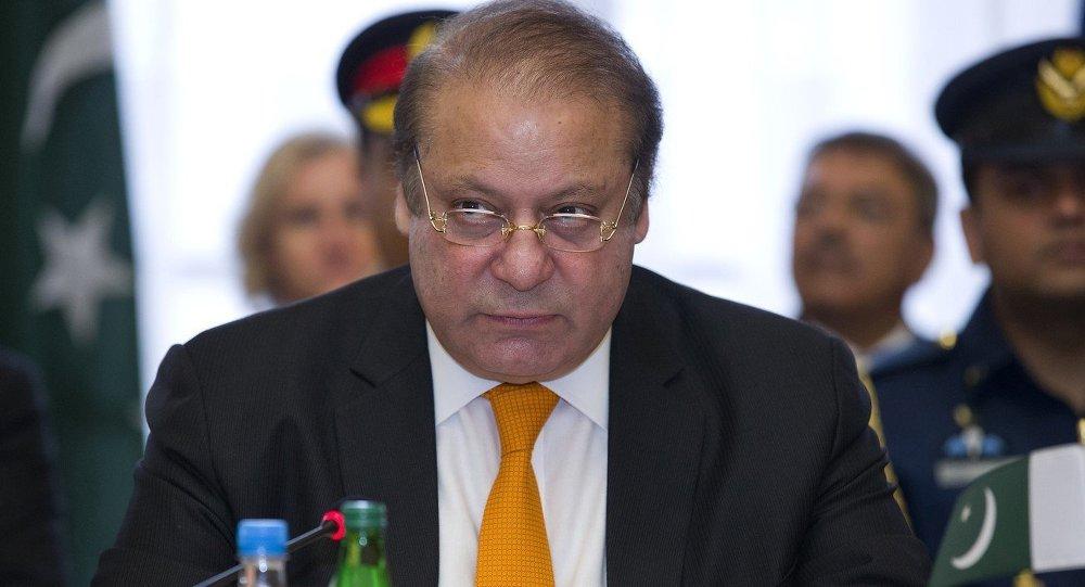 رئيس الوزراء الباكستاني نواز شريف