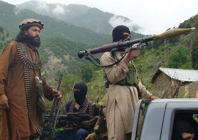 عناصر من حركة طالبان