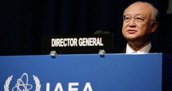 رئيس الوكالة الدولية للطاقة الذرية يوكيا أمانو