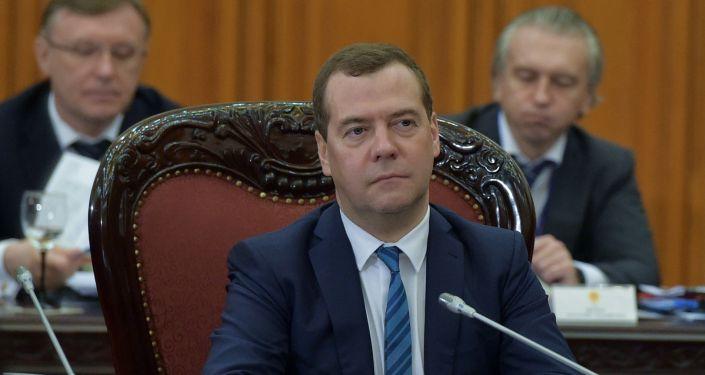 دميتري ميدفيديف، رئيس الحكومة الروسية
