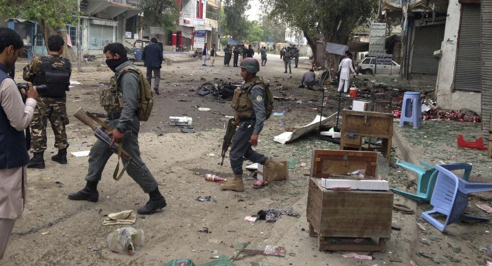 نتيجة بحث الصور عن انفجار في افغانستان