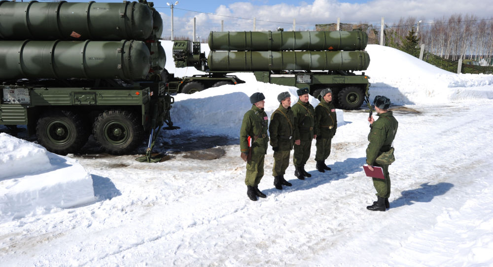 منظومة إس-400 الصاروخية للدفاع الجوي