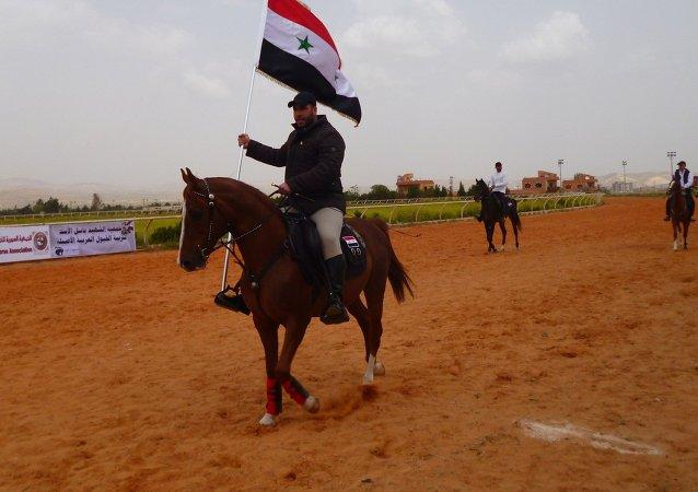 صهيل الخيل السوري يعلو في مضمار الديماس