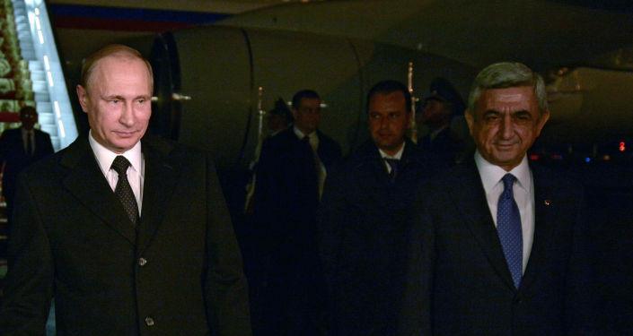 بوتين يصل أرمينيا