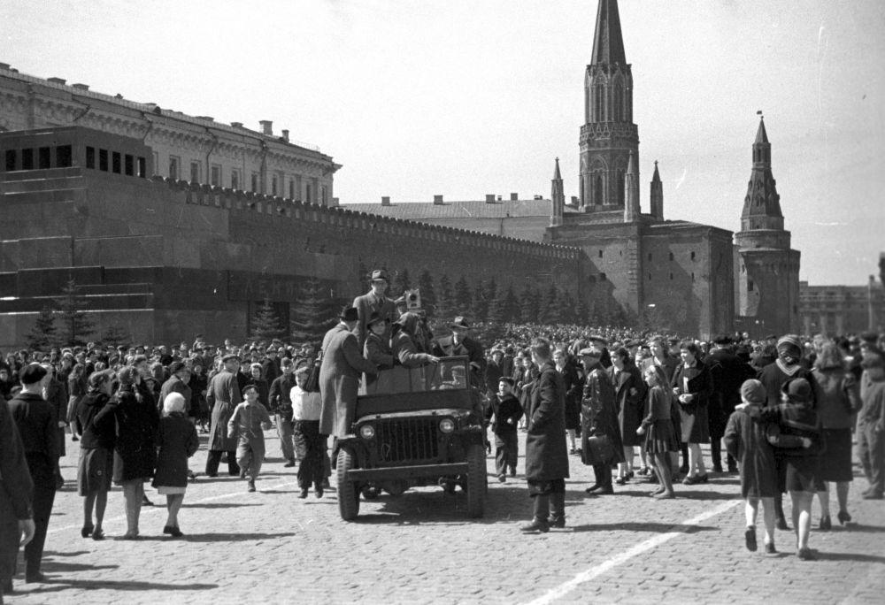 موسكو، 9 أيار/ مايو 1945