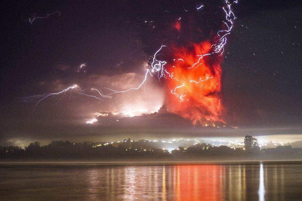 ثورة بركان كالبيوكو في شيلي