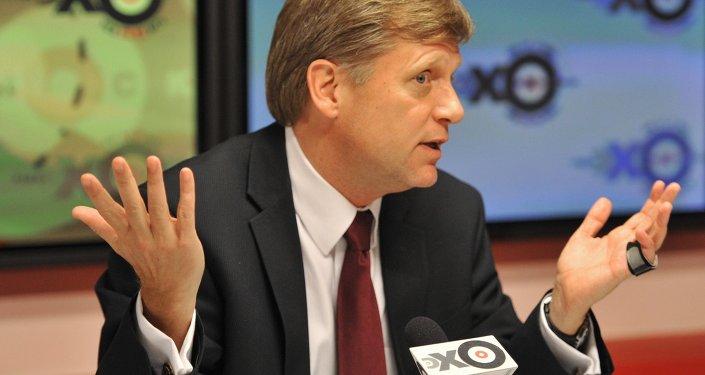 مايكل ماكفول، سفير الولايات المتحدة لدى روسيا