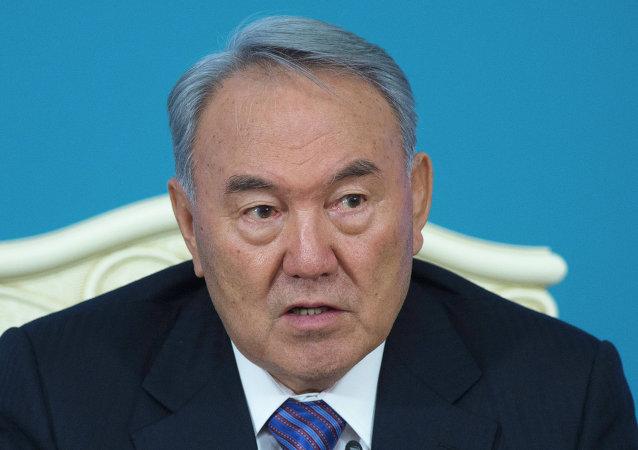 نور سلطان نزاربايف، رئيس كازاخستان