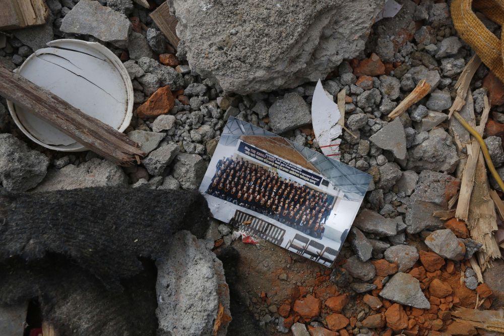 نتائج زلزال نيبال