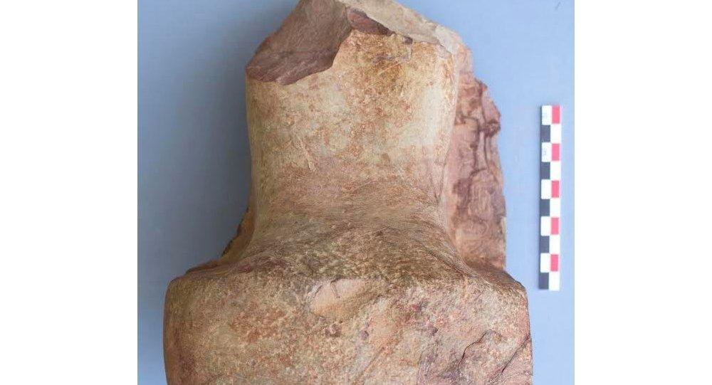 جزء من تمثال ساحو رع