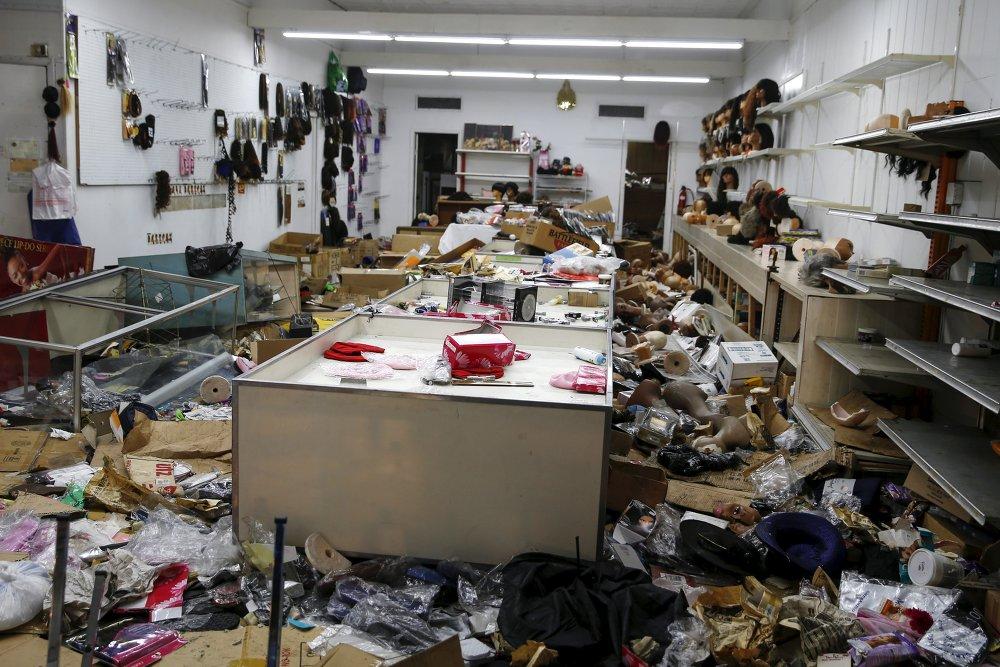 أعمال شغب في بالتيمور