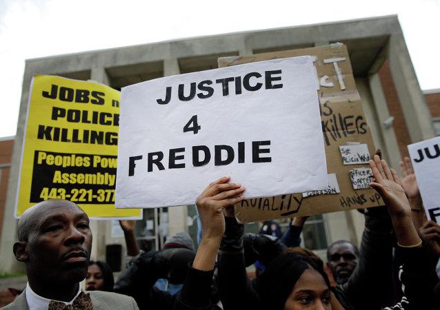 احتجاجات بالتيمور في الولايات المتحدة