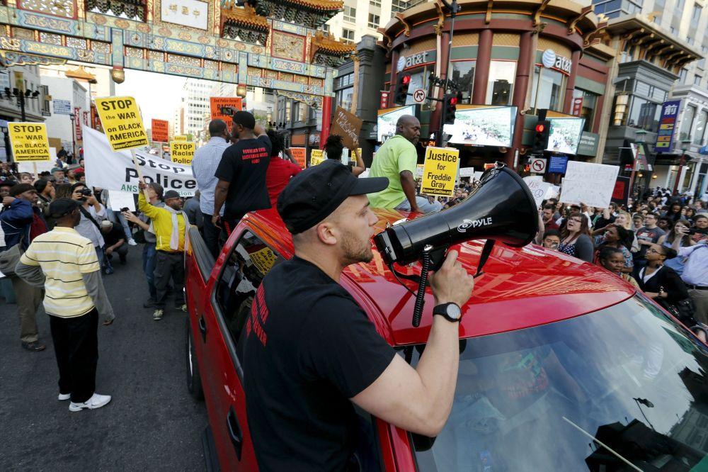 احتجاجات ضد عنف الشرطة في مدن الولايات المتحدة