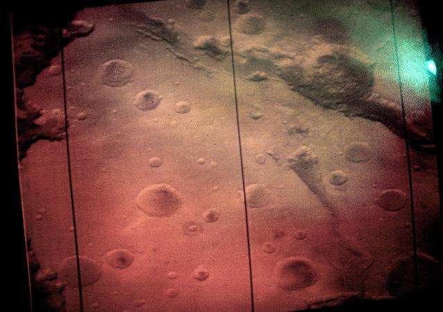 صورة لسطح المريخ