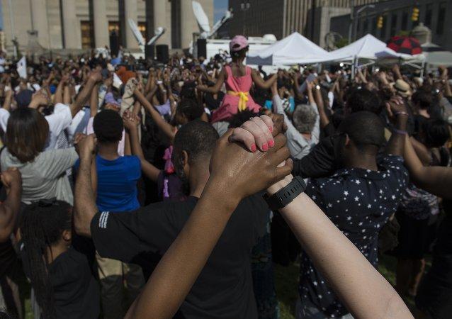 اتحجاجات ضد العنصرية في بالتيمور