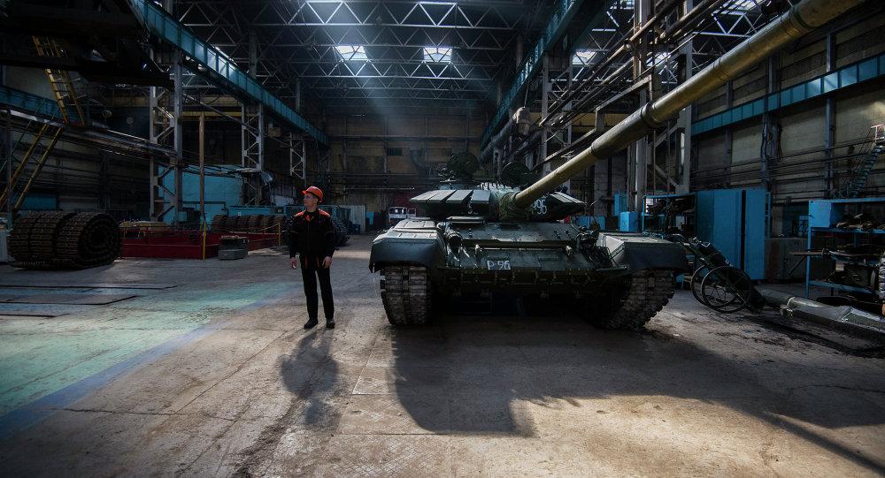 مصنع الآليات في مدينة أومسك