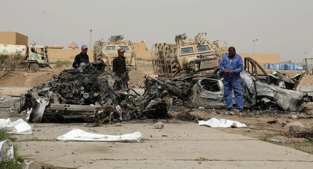 انفجار سيارة في العراق