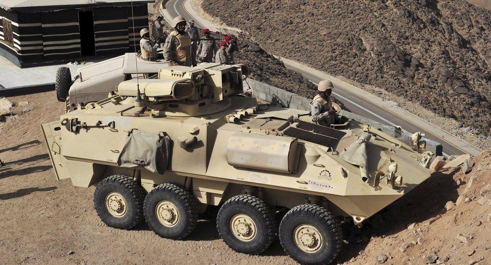 الجيش السعودي على الحدود السعودية اليمنية