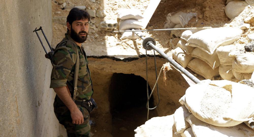 جندي من الجيش السوري